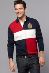 Tommy Hilfiger Peabody Long Sleeve Rugby Polo Shirt - Lyst