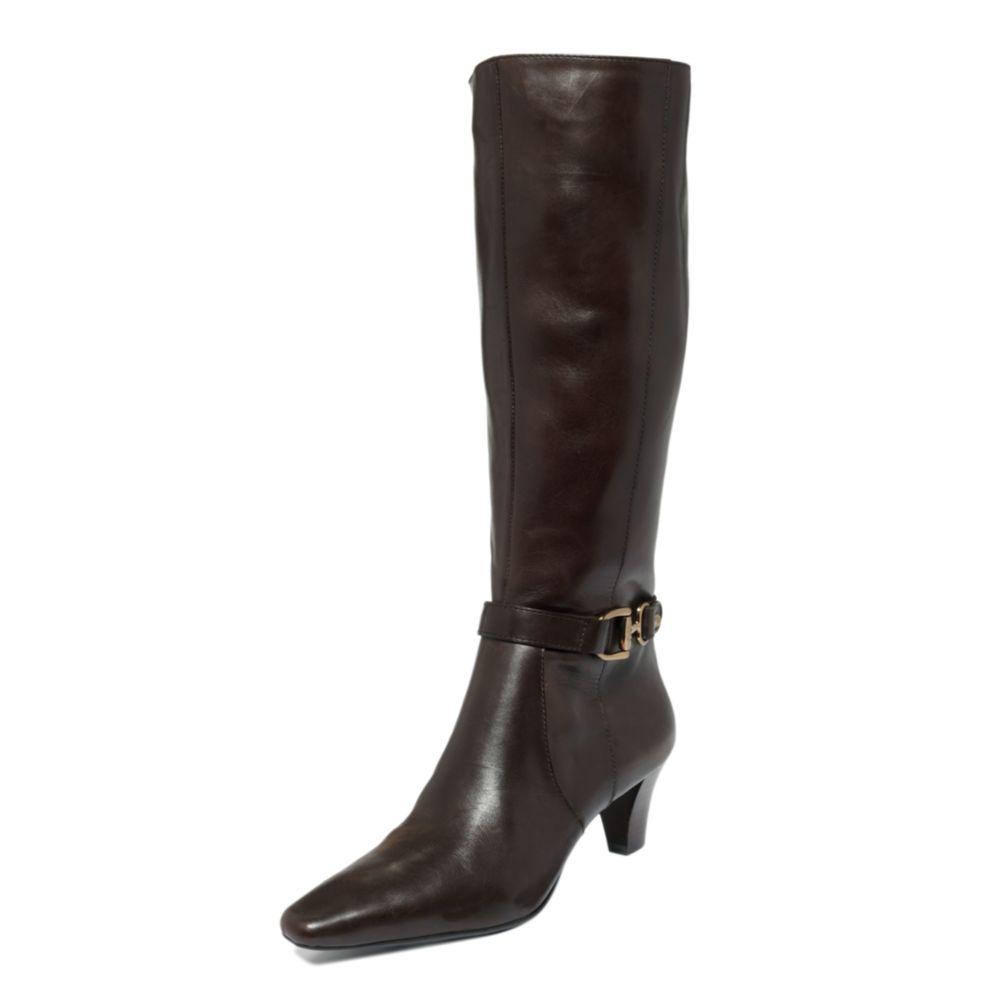 d35b4dc84a2 Lyst - Anne Klein Gauge Iflex Boots in Black