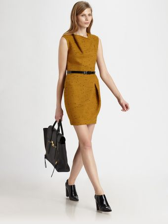 3.1 Phillip Lim Asymmetric Draped Dress - Lyst