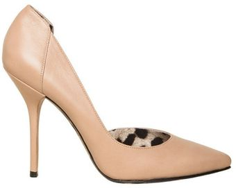 Dolce & Gabbana 110mm Leather Dorsay Pointy Pumps - Lyst
