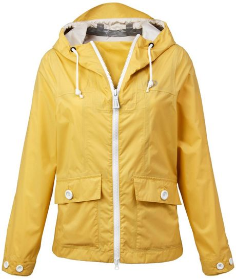Henri Lloyd Corine Waterproof Smock Jacket in Yellow - Lyst