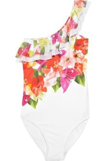 Jets by Jessika Allen Vista Floralprint Oneshoulder Swimsuit - Lyst