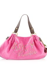 Juicy Couture Fluffy Day Tote Flamingo - Lyst