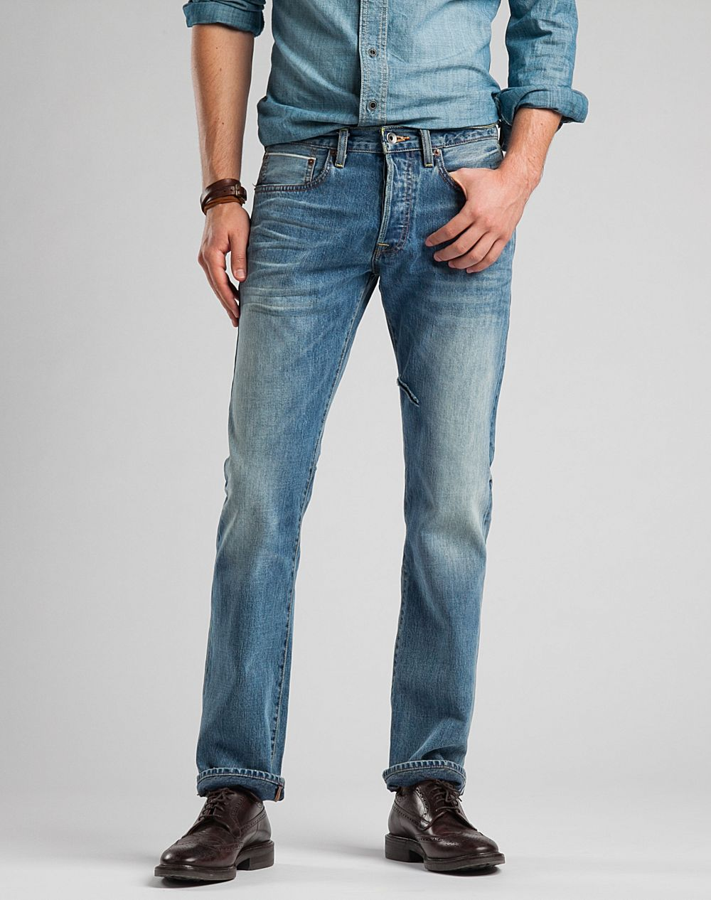 how to tell the brand of lucky jeans