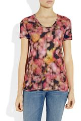 Mulberry Printed Jersey Top in Multicolor (multicolored) - Lyst