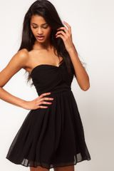 ASOS Collection Mini Skater Dress with Sweetheart Neck - Lyst