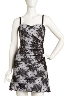 D&G Floral Lace Cocktail Dress - Lyst