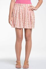 Frenchi® Flowy Pleated Skirt - Lyst