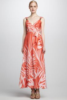 Milly Samantha Sleeveless Maxi Dress - Lyst