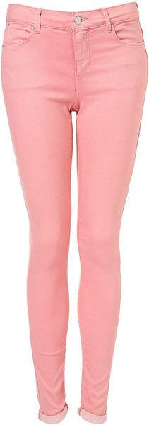 Moto Moto Pink Glitter Leigh Jean in Pink