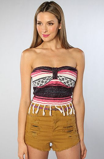 Rojas The Baja Bustier in Pink - Lyst