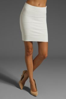 BCBGMAXAZRIA Mini Body Con Skirt - Lyst