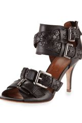 Boutique 9 Ruby Braidedstrap Sandal Black - Lyst