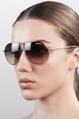 Carrera Aviator Sunglasses  - Lyst