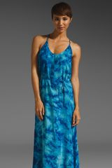 C&c California Crystal Wash Strappy Maxi Dress - Lyst