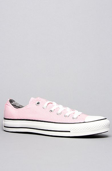 Converse The Stonewashed Railroad Chuck Taylor All Star Sneaker in Pink Sparkle in Pink - Lyst