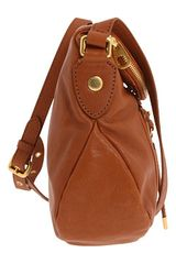 Marc By Marc Jacobs Preppy Leather Natasha in Brown (r) - Lyst