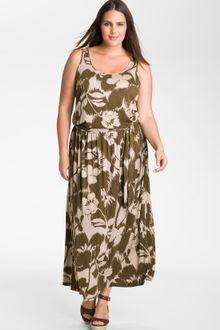 Michael by Michael Kors Sleeveless Knit Maxi Dress - Lyst