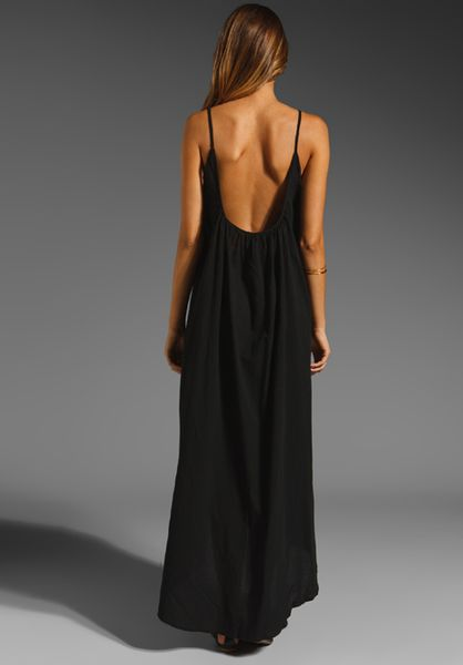LOW BACK MAXI DRESS on The Hunt