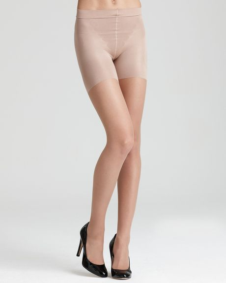 Tights spanx nude shimmery
