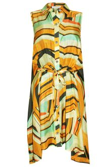 Thakoon Tie Front Dress - Lyst
