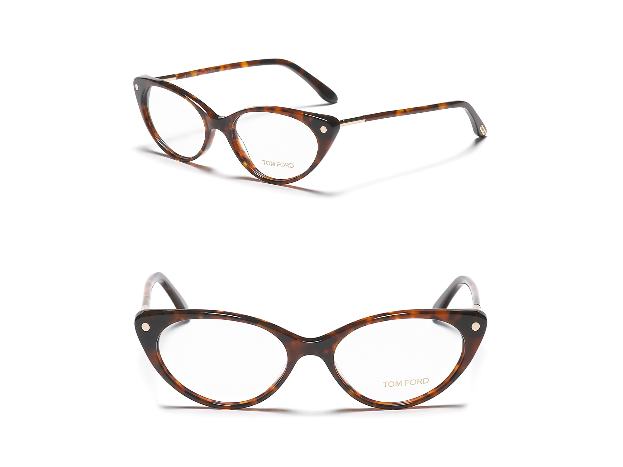 a701da371ace Tom Ford Cat Eye Optical Frames Brown Havana – 1001 Funny Cat Pictures