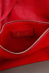 Saint Laurent Roady Bag in Red - Lyst