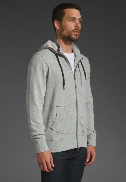 Hoodie in Vintage Grey in Gray for Men (vintage grey heather) | Lyst
