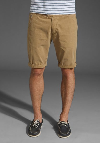 Diesel Chitightsho Shorts in Khaki for Men - Lyst