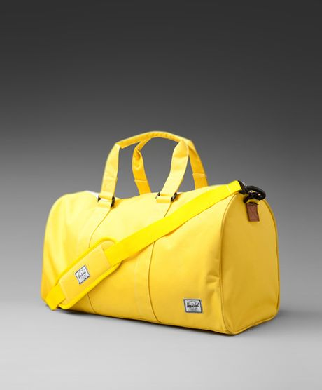 Herschel Supply Co. Ravine Duffle Bag  in Blue (canary & canary)