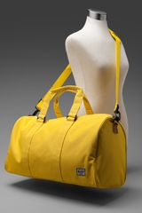 Herschel Supply Co. Ravine Duffle Bag  in Blue (canary & canary) - Lyst