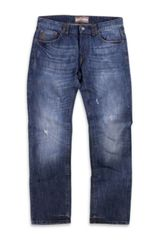 John Galliano Straight Leg Jeans - Lyst