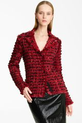 Lanvin Winter Tweed Jacket - Lyst