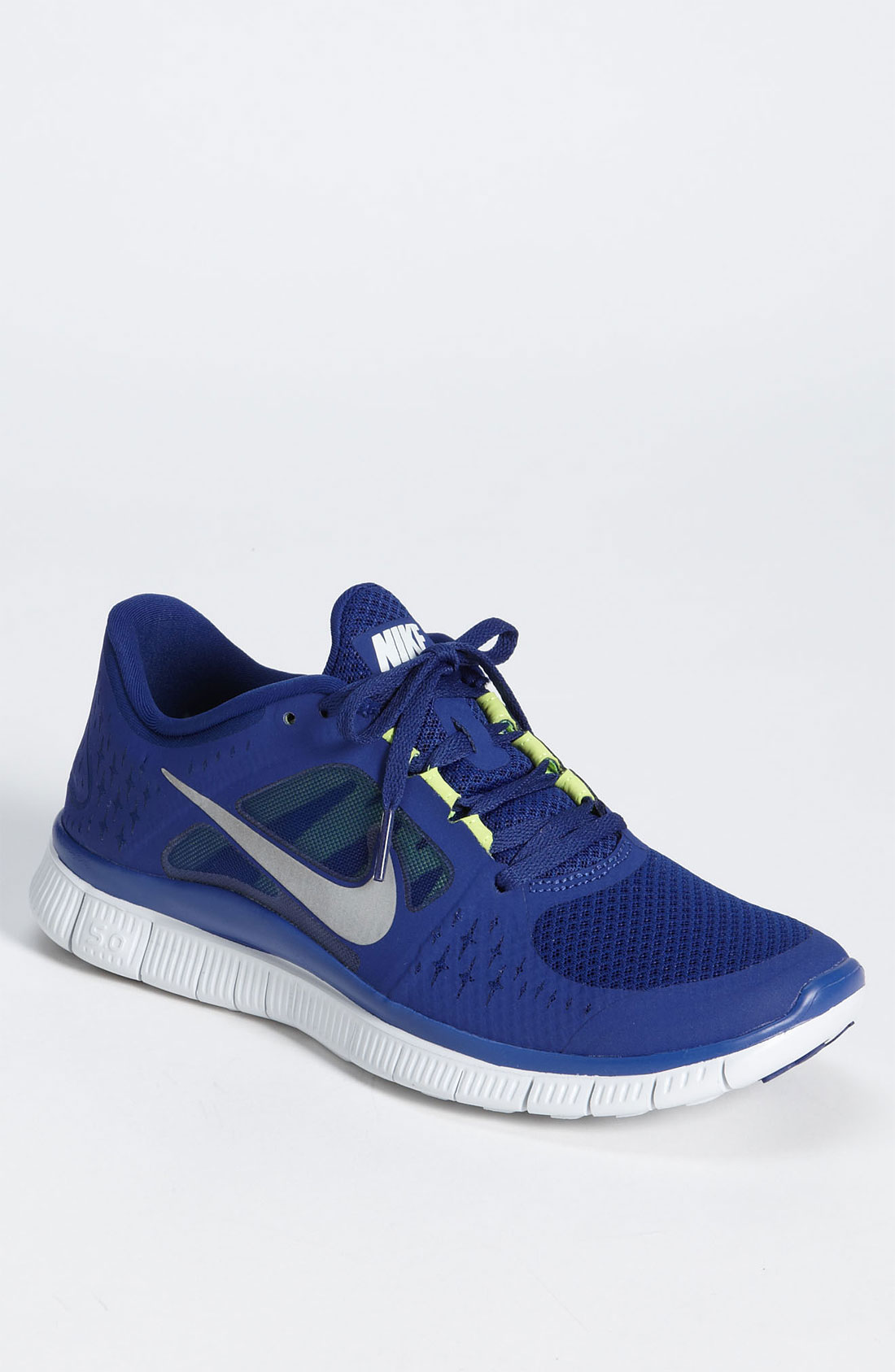Nike Free Run 3 Running Shoe in Blue for Men (royal blue