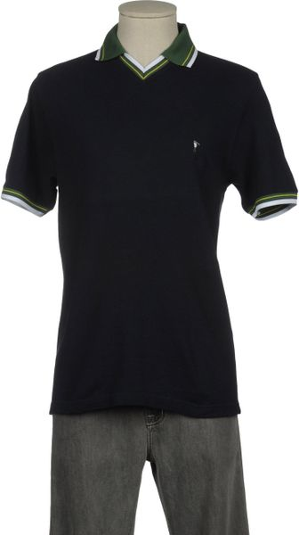 Pierre Cardin Polo Shirt in Blue for Men - Lyst