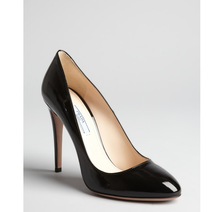 Discount The Cheapest Womens Suede Point-Toe Pumps Prada Sale hSqP8ZJli