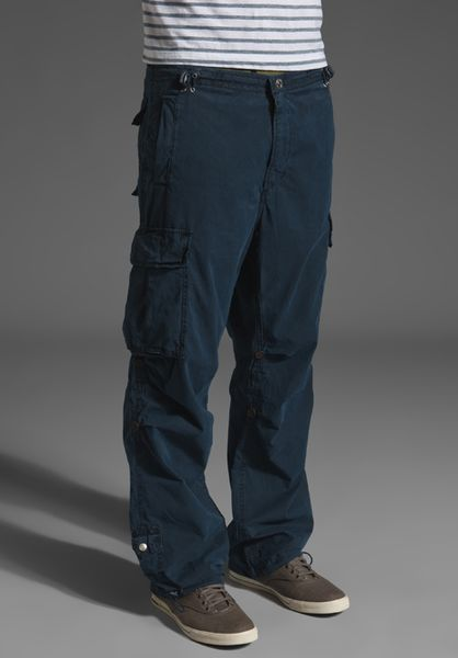 True Religion Cargo Pant In Blue For Men Dark Navy Lyst