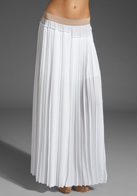 Bcbg black pleated maxi skirt – Fashionable skirts 2017 photo blog