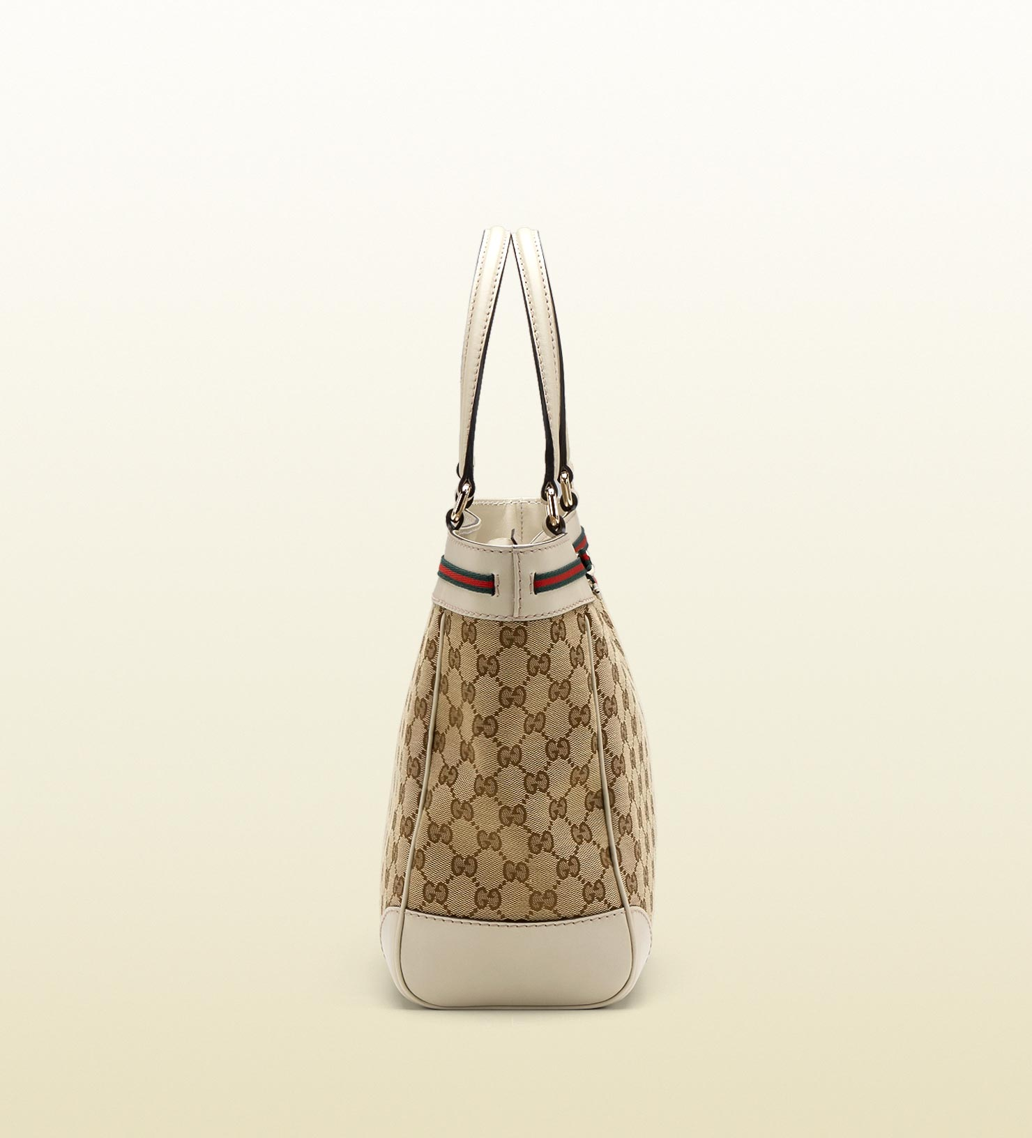 1f54a829a724 Gucci Mayfair Bow Detail Tote in Brown - Lyst