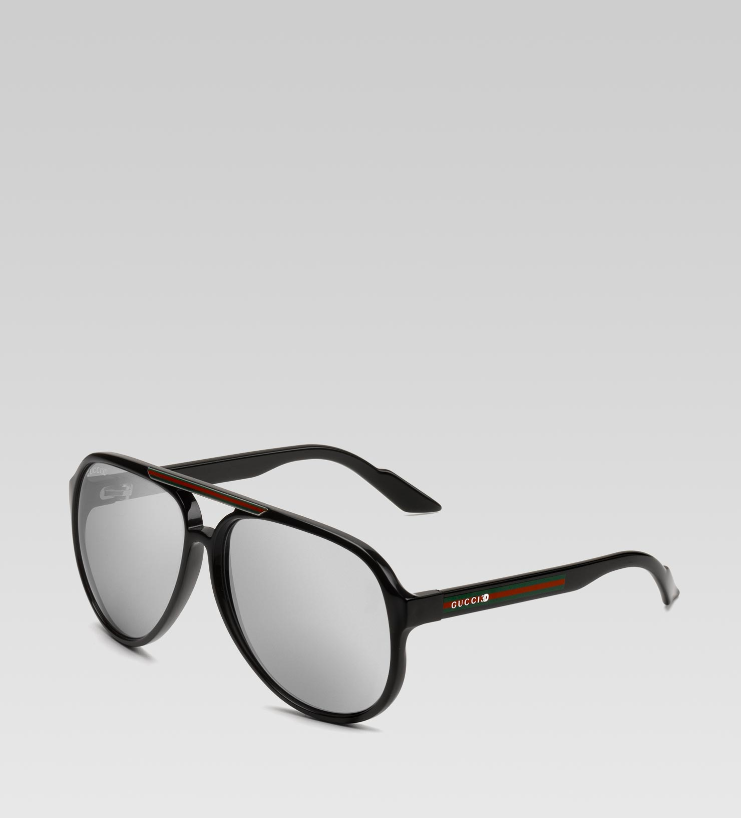 0816a14b54 Lyst - Gucci 3d Glasses with Gucci 3d Detail and Signature Web On ...