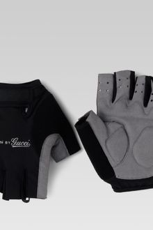 Gucci Fingerless Biking Gloves - Lyst