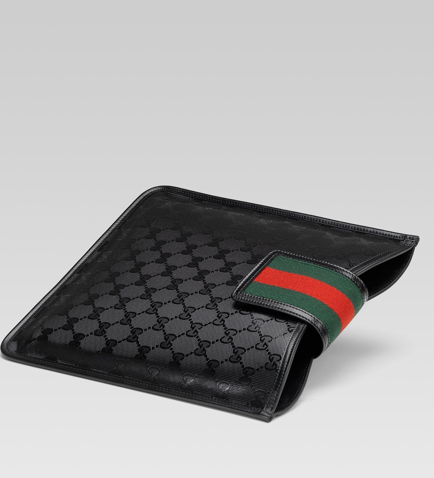 b94aa5dbb027cb Gucci Ipad Case in Black for Men - Lyst