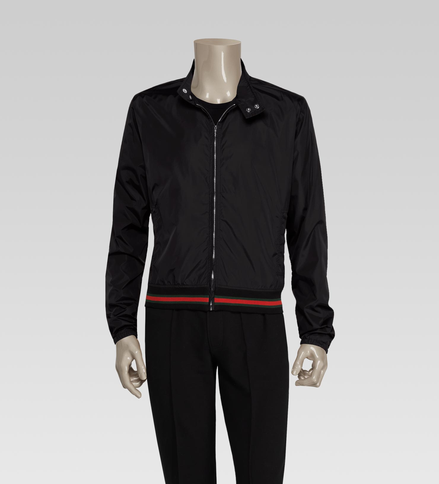 Gucci Mens Bomber Jacket With 500 By Gucci Script Print In