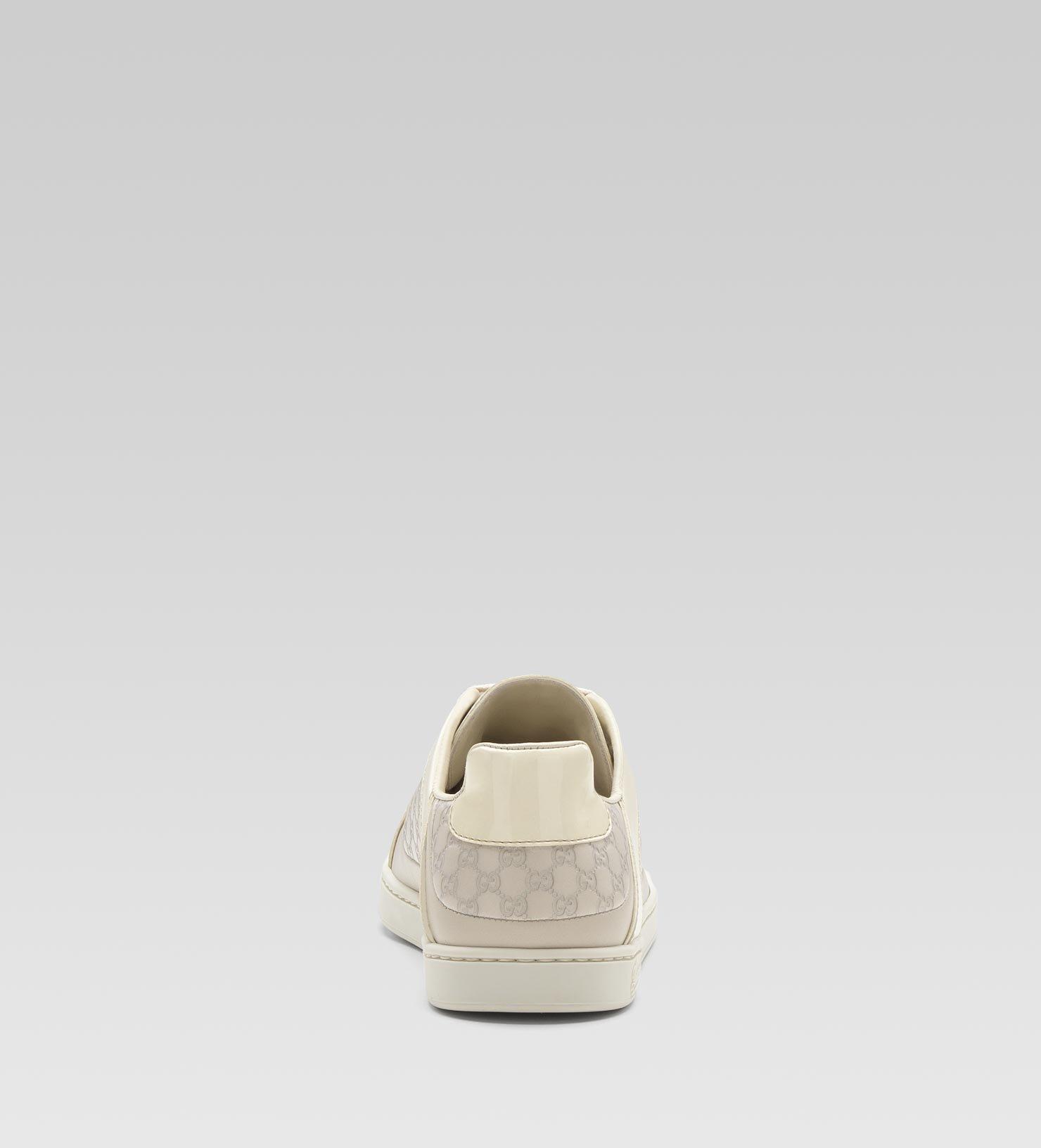 7100274d6 Gucci Coda Pop Low Laceup Sneaker in White - Lyst