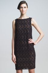 Piazza Sempione Embroidered Shift Dress - Lyst