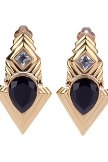 Givenchy Vintage Clipon Earring - Lyst