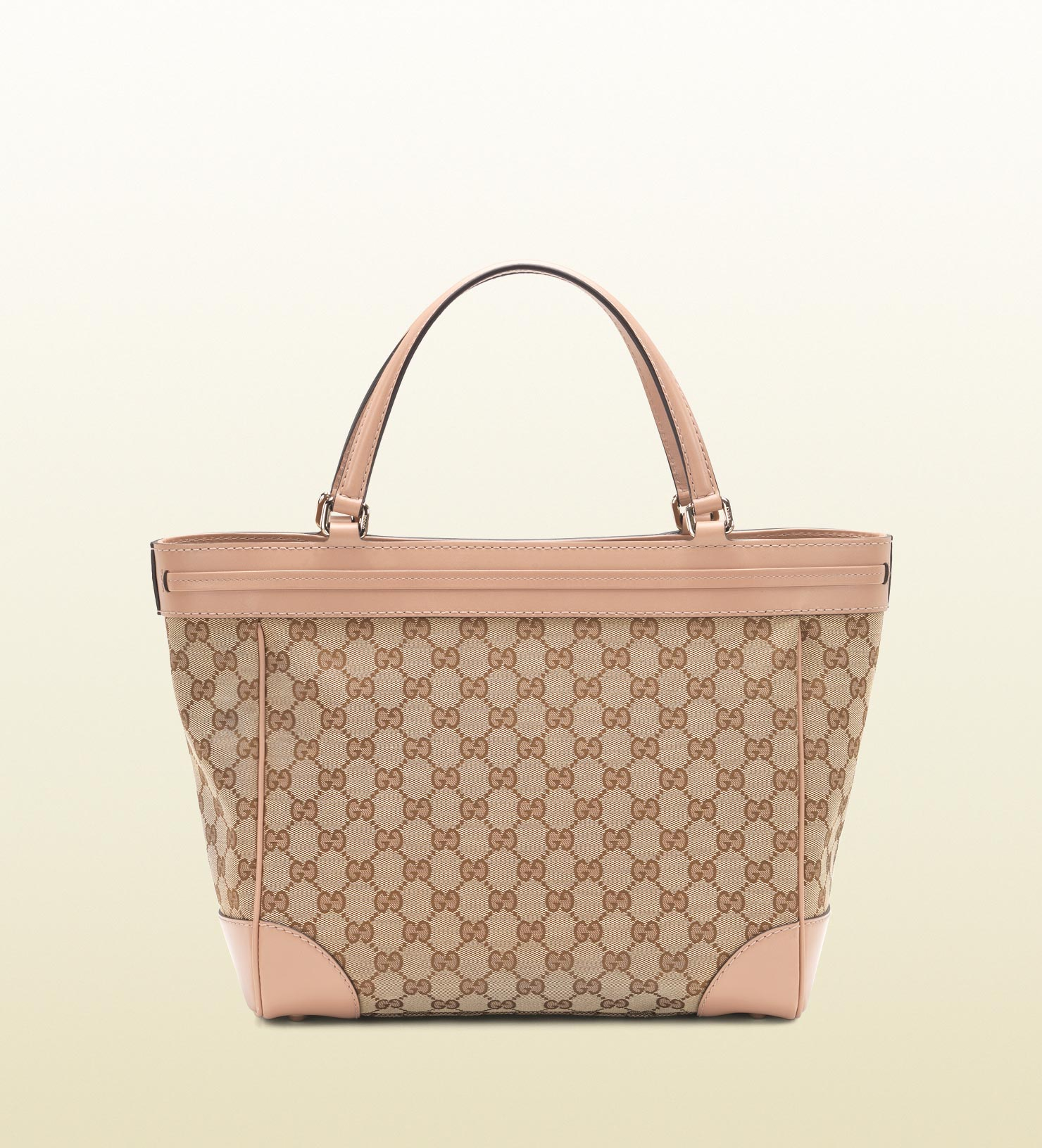 bbbade8ecb3c Gucci Mayfair Original Gg Canvas Bow Detail Tote in Natural - Lyst
