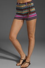 Ladakh Striped Shorts - Lyst