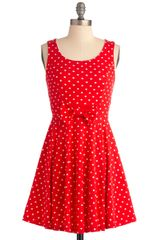 ModCloth Think Outside The Jukebox Dress - Lyst