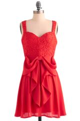 ModCloth What A Way To Bow Dress - Lyst